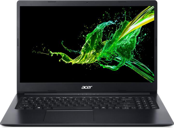 Acer Aspire 3 (A315-34), černá