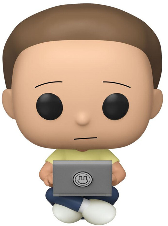 Figurka Funko POP! Rick and Morty - Morty with Laptop