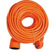 Sencor prodlužovací přívod, 1 zásuvka, 20m, oranžová - 35033611