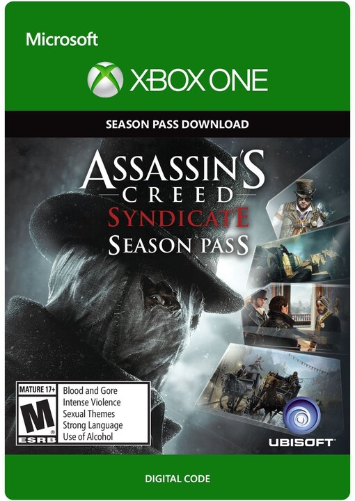 Assassin's Creed: Syndicate - Season Pass (Xbox ONE) - elektronicky