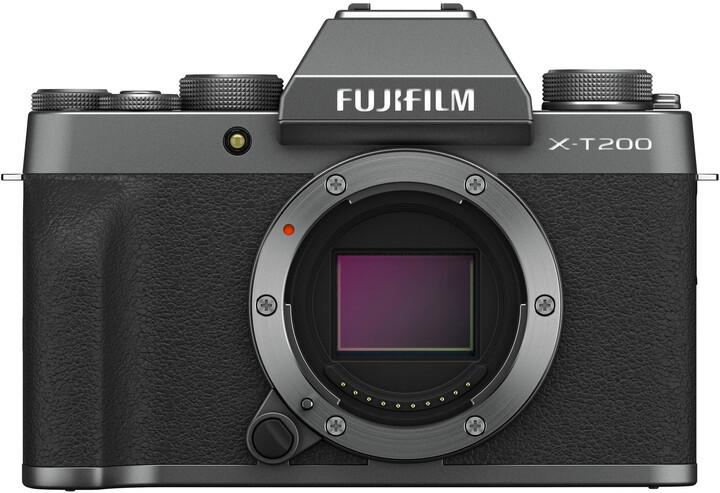 Fujifilm X-T200, tělo, černá