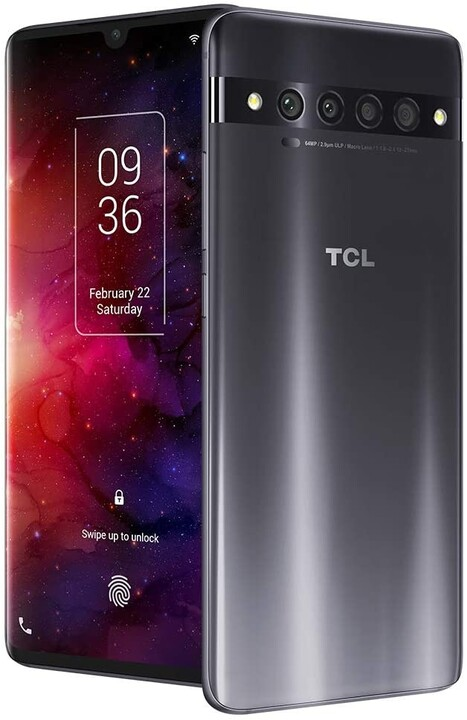 TCL 10PLUS, 6GB/64GB, Black/Starlight Silver