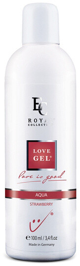 Lubrikační gel Love Gel Aqua, Strawberry, 100 ml