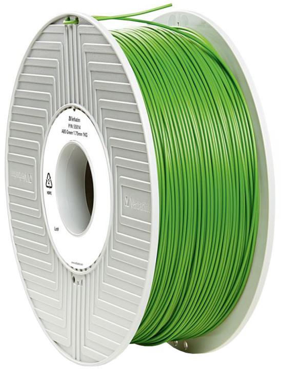 Verbatim tisková struna (filament), ABS, 1,75mm, 1kg, zelená