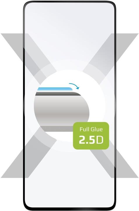 FIXED ochranné tvrzené sklo Full-Cover pro Xiaomi Poco F2 Pro, lepení přes celý displej, černá