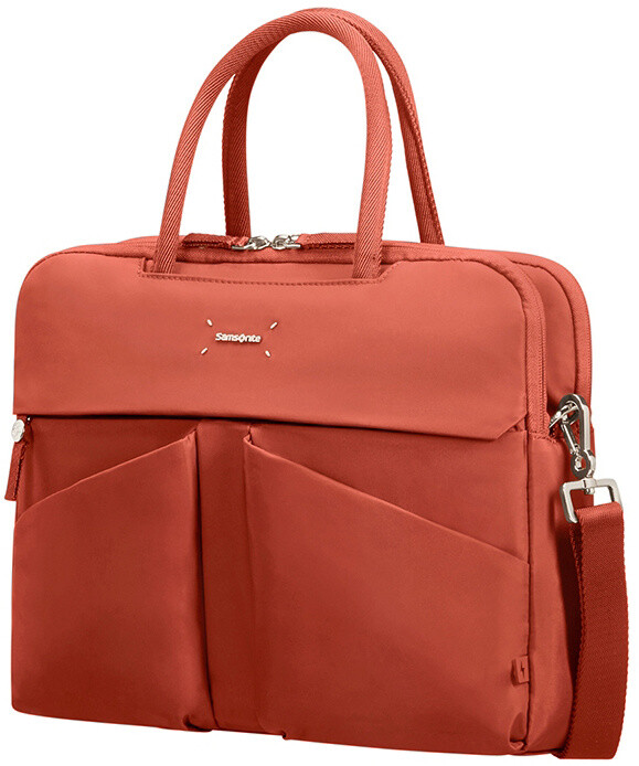 "Samsonite Lady Tech ORGANIZ. BAILHANDLE 14.1"", Rust"