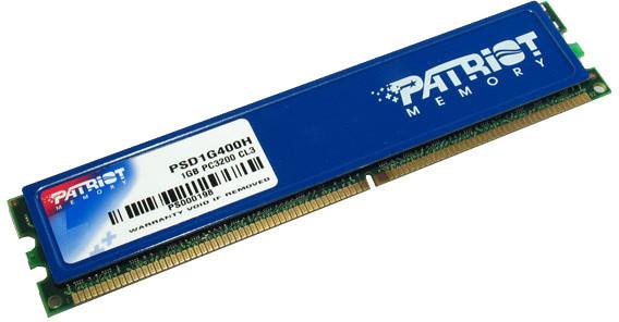 Patriot Signature Line 1GB DDR 400 with heatshield
