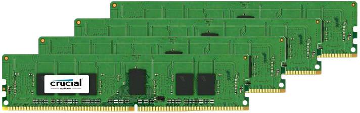 Crucial 32GB (4x8GB) DDR4 2400