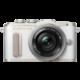 Olympus E-PL8 tělo + 14-42mm, bílá/stříbrná Traveler Kit  + Objektiv Olympus Body Cap Lens 15mm f/8, bílá v ceně 2199 Kč + 300 Kč na Mall.cz