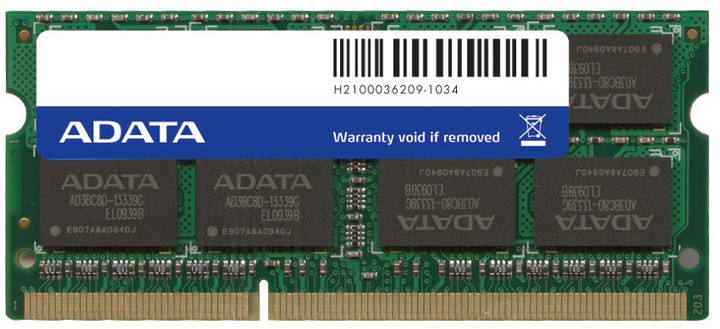 ADATA Premier Series 2GB DDR3 1333 SO-DIMM