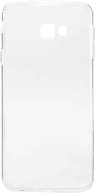 EPICO Pružný plastový kryt pro Samsung Galaxy J4+ RONNY GLOSS, bílá transparentní