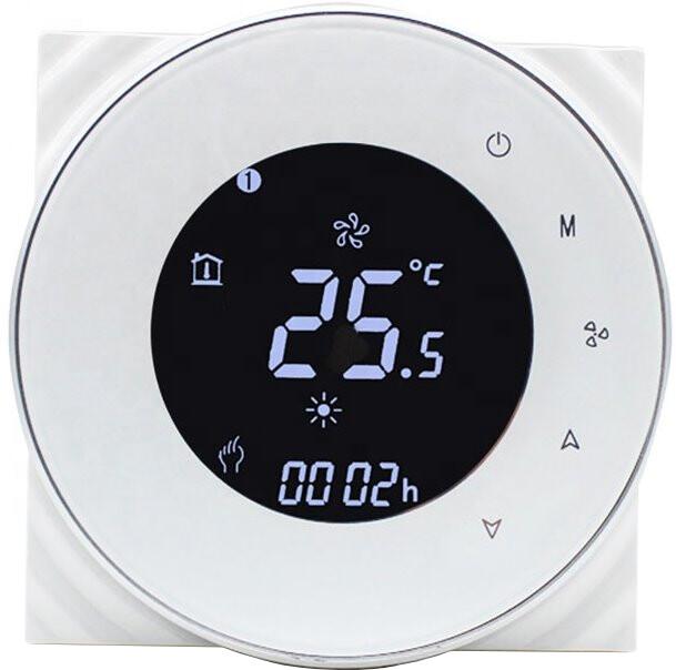 iQtech SmartLife termostat pro kotle GALW-W, se spínačem, bílá