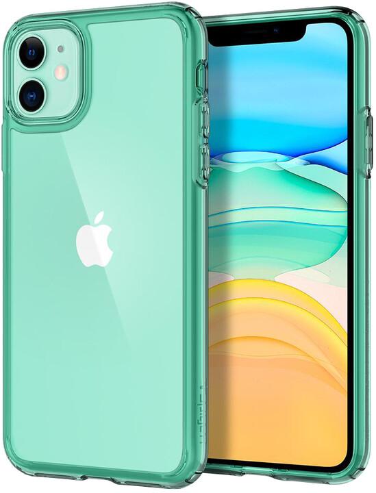 Spigen Ultra Hybrid pro iPhone 11, zelená