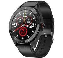 IMMAX chytré hodinky OWN FACE, černý - HODIMM1061