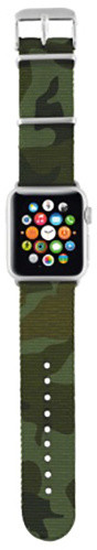 Trust náramek pro Apple Watch 38mm, camouflage