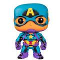 Figurka Funko POP! Marvel - Black Light Captain America