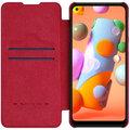 Nillkin pouzdro Qin Book pro Samsung Galaxy A21, červená