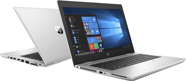 HP ProBook 640 G4, stříbrná