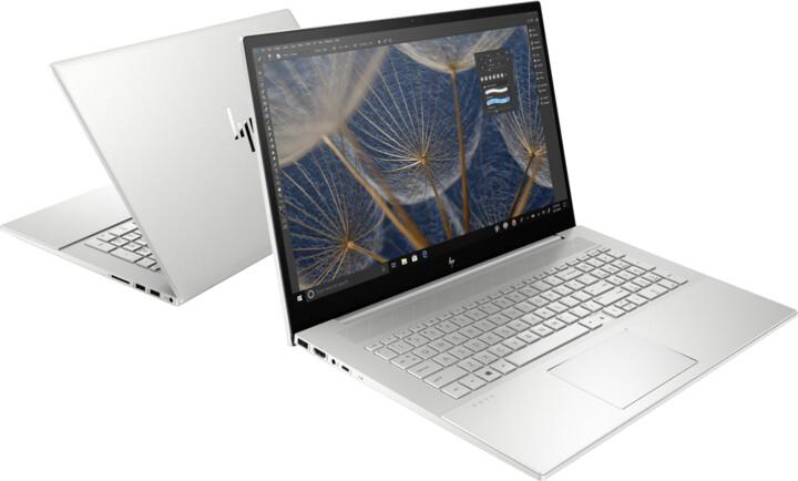 HP ENVY 17-cg1002nc, stříbrná