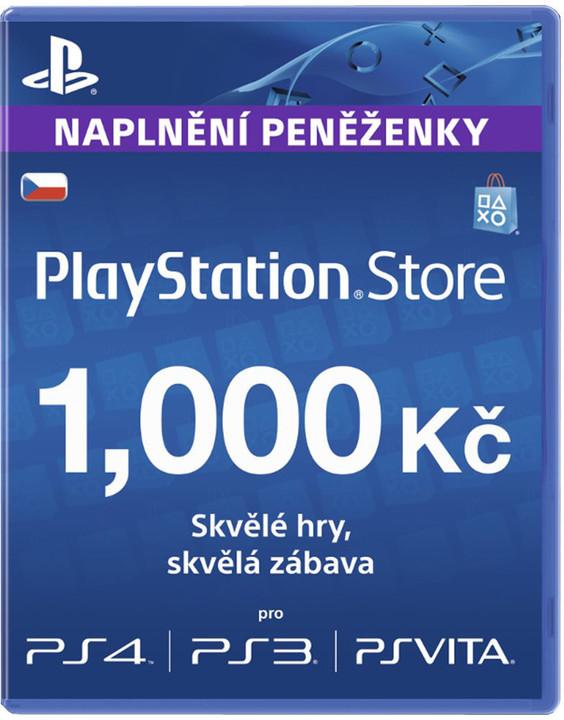 Playstation Network Card - 1000 Kč
