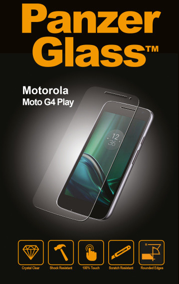 PanzerGlass Standard pro Motorola Moto G4 Play, čiré