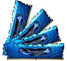 G.SKill Ripjaws4 32GB (4x8GB) DDR4 2400, CL15, blue