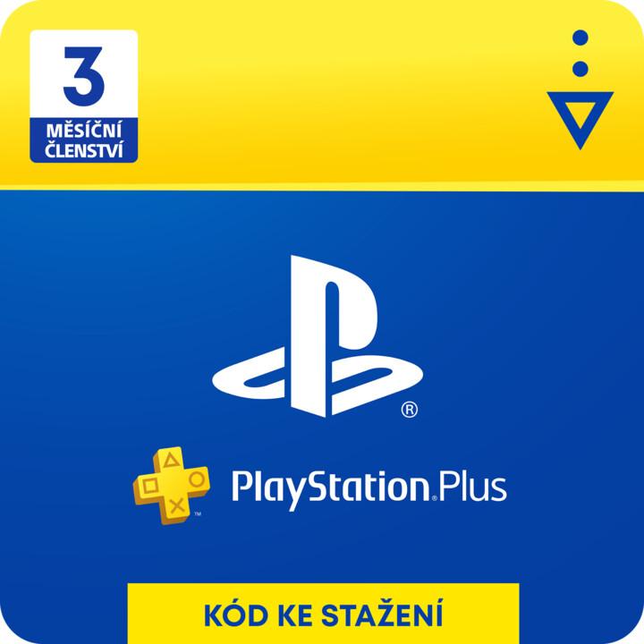 PlayStation Plus 3-měsíční členství - elektronicky