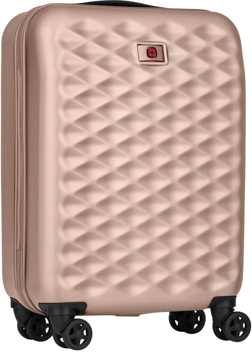 """WENGER LUMEN - 20"""" cestovní kufr, 32 litrů, růžová"""