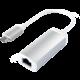 Satechi Type-C to Ethernet Adapter, stříbrná