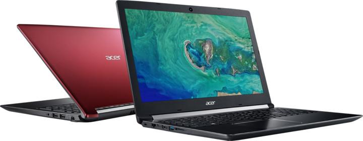Acer Aspire 5 (A515-51G-30PM), červená