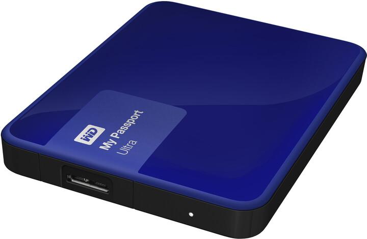 WD My Passport Ultra - 3TB, modrá