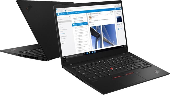 Lenovo ThinkPad X1 Carbon 7, černá