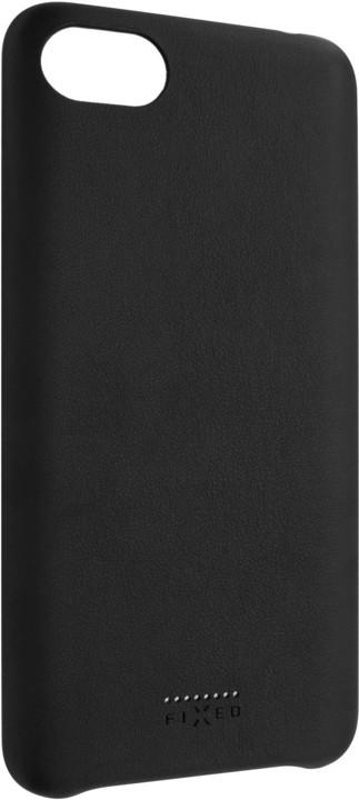 FIXED zadní kryt Tale pro Huawei Y9 (2019), PU kůže, černá