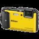 Nikon Coolpix AW130, Diving Kit, žlutá