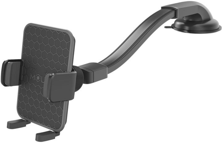 CELLY univerzální držák mobilního telefonu s přísavkou a otočným kloubem Mount Flex Plus, černá