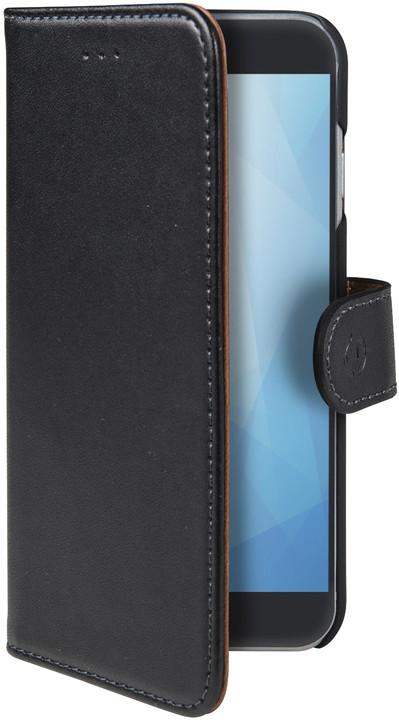 CELLY Wally pouzdro typu kniha pro Honor 7C, černé