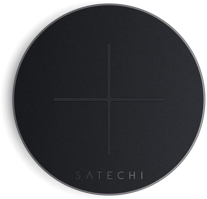 Satechi Type-C rychlonabíječka V2, bezdrátová, tmavě šedá