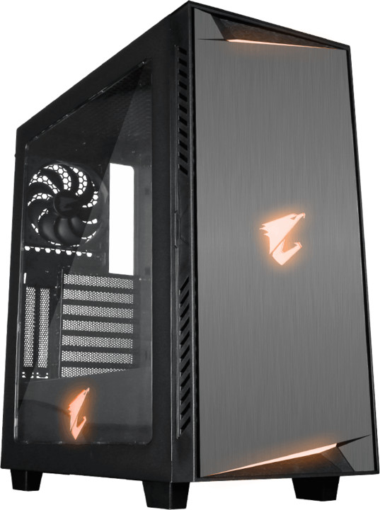 GIGABYTE AC300W, RGB Lighting, okno