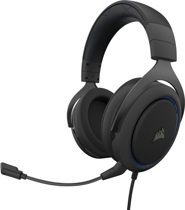 Corsair HS50 Pro Stereo, modrá