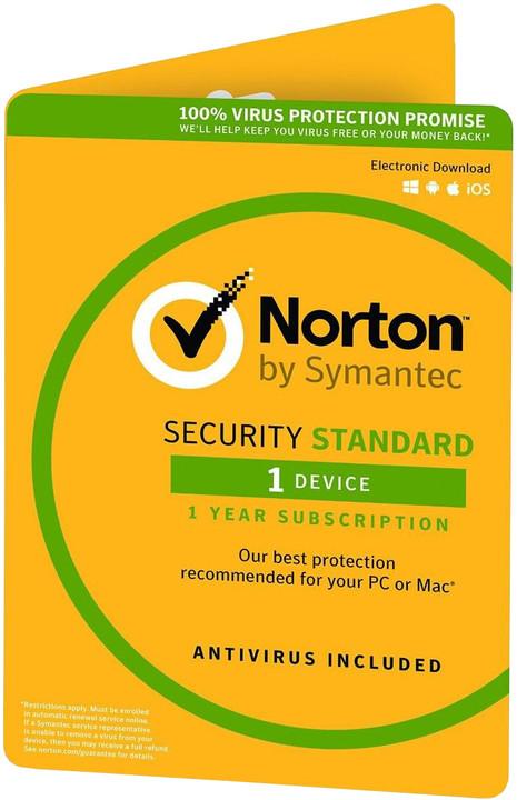Symantec Norton Security Standard 3.0 CZ 1 uživatel, 1 zařízení, 1 rok - el. licence