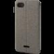 EPICO ochranné pouzdro pro Xiaomi Redmi 6A COTTON FLIP, šedé