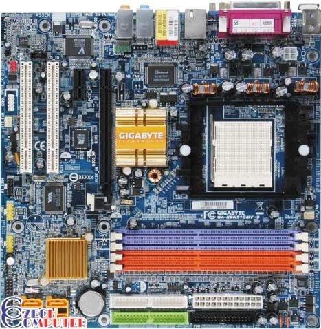 Gigabyte GA-K8N51GMF-9 - nForce 430 + GeForce 6100