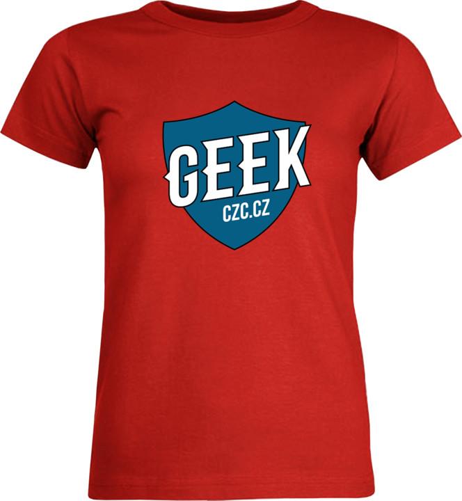 Bonus tričko GEEK dámské - modrá, L
