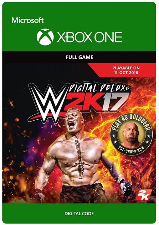WWE 2K17: Digital Deluxe Edition (Xbox ONE) - elektronicky
