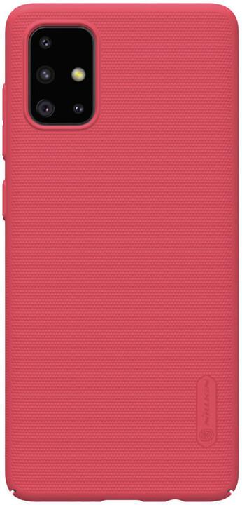 Nillkin Super Frosted zadní kryt pro Samsung Galaxy A71, červená