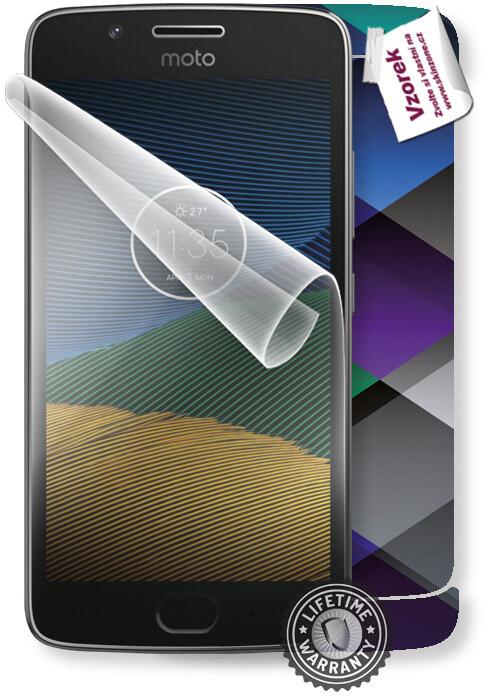 ScreenShield fólie na displej + skin voucher (vč. popl. za dopr.) pro Motorola Moto G5 XT1676