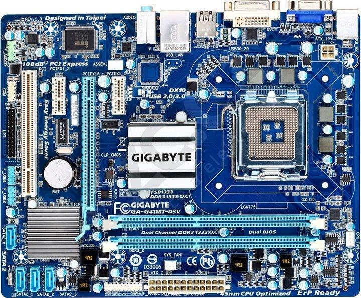 GIGABYTE GA-G41MT-D3V - Intel G41