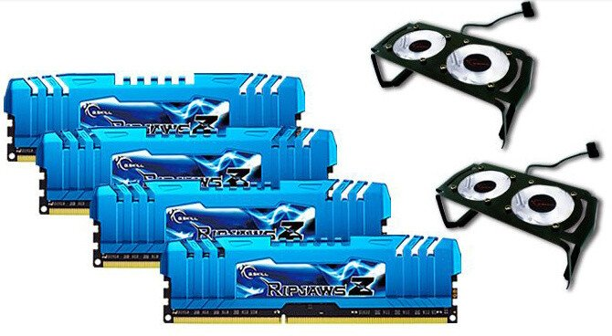 G.SKill RipjawsZ 16GB (4x4GB) DDR3 2400 CL9