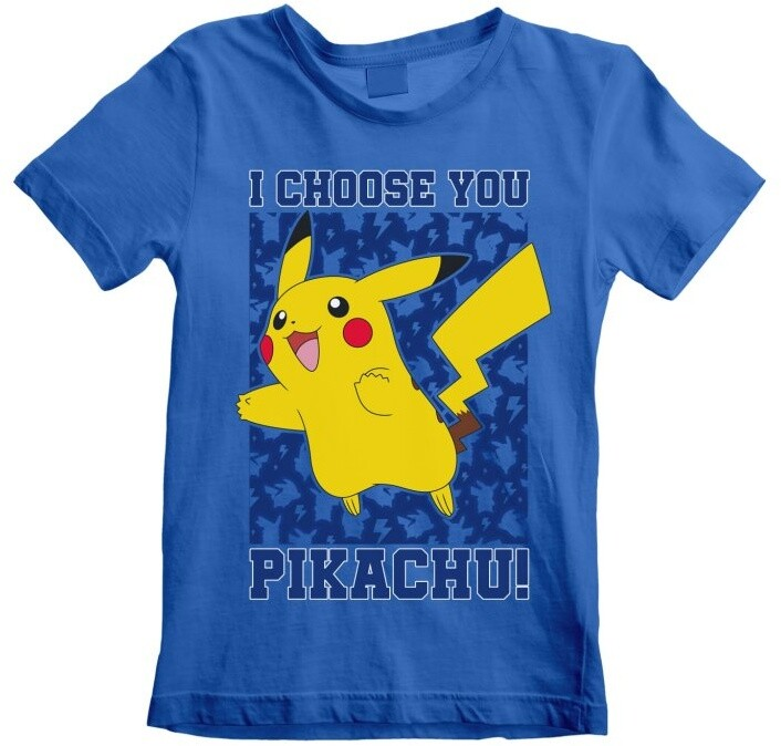 Tričko Pokémon: I Choose You, dětské, (7-8 let)