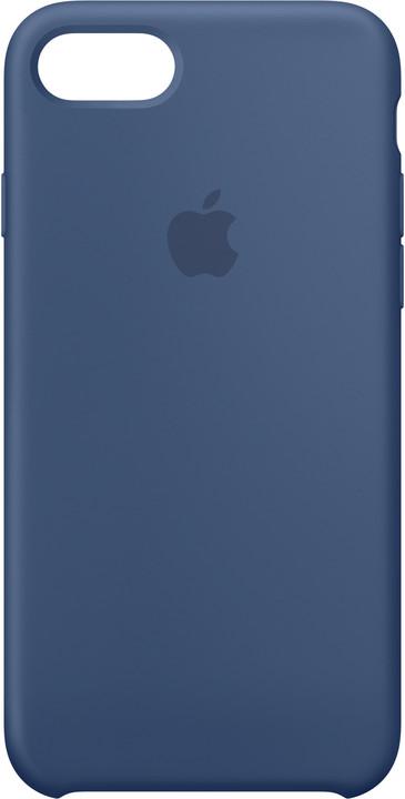Apple Silikonový kryt na iPhone 7/8 – jezerně modrý